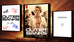 Outer Banks Script/Screenplay Movie Poster Autograph Signed Print