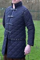 Medieval Thick Padded Gambeson costumes suit of armor for theater Detachable