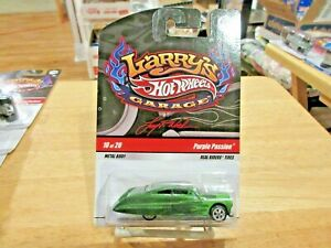 Hot Wheels Larry's Garage PURPLE PASSION Initialed CHASE Car MOC