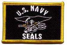 USA Navy Seals Aufnäher Flaggen Fahnen Patch Aufbügler 8x6cm