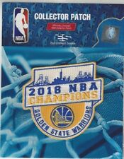 2018 Golden State Warriors NBA Champions Jersey Patch Official NBA Champs Logo