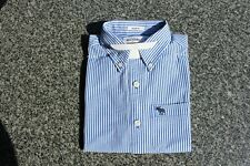 Used 'abercrombie kids' Button-Down Collared Striped Shirt, Size M (c.11/12 yrs)