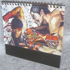 STREET FIGHTER x TEKKEN Command Book Desk-top Game Guide PS3 Xbox360 Japan Ltd