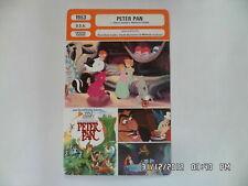 CARTE FICHE CINEMA 1953 DISNEY PETER PAN