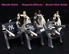 New York Yankees Baseball MLB Wedding Cake Topper Groom top Anniversary Shower