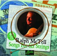 RALPH McTELL - Songs For Six Strings - CD - D4 (4th D) in Card Sleeve
