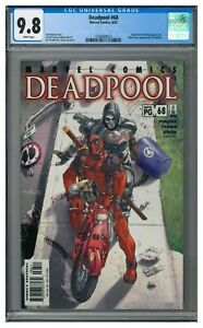 Deadpool #68 (2002) Awesome Taskmaster Cover CGC 9.8 CU185