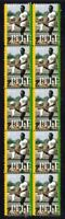 PELE BRAZIL FOOTBALL CHAMPION STRIP OF 10 VIGNETTE STAMPS 3