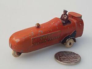 Vintage PRE WAR  60Y DINKY TOYS  THOMPSON AIRCRAFT REFULLER