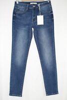 Kancan Jeans Women's Mid Rise Skinny Stretch Dark Blue KC11214CHD