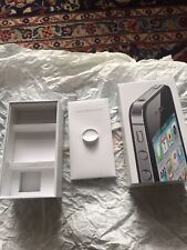 iPhone 4S Empty Box Only With Instruction Manual A1387 16G MD277LLA (QQ33)