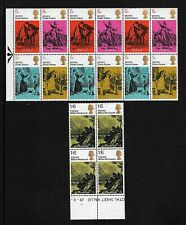 GREAT BRITAIN - 1970 Charles Dickens Prev Hinged Mint Stamps - See Description