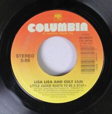 Rock 45 Lisa Lisa And Cult Jam - Little Jackie Wants To Be A Star / Star (The Ja