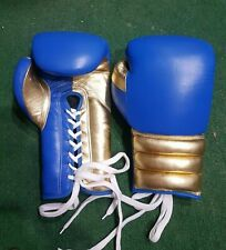 New Custom Mexican Style Golden Boxing Gloves any logo Name no winning,no grant