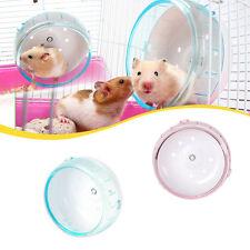 Hamster Mouse Rat Exercise Plastic Silent Running Spinner Wheel Pet Toy BEST