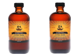 Sunny Isle™ Extra Dark Jamaican Black Castor Oil 8oz Thicker and Richer Set of 2