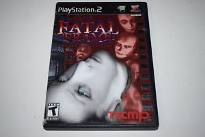 Fatal Frame Playstation 2 PS2 Original Video Game Case w/ Artwork Only