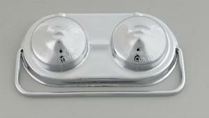 Chrome Master Cylinder Cover GM Drum Style Round Brake Chevy Chevrolet Drums