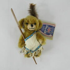 Merrythought Cheeky Braves It Out Bear Plush Jointed 6� Limited Edition 136/250