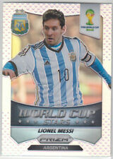 Panini World Cup 2014 Prizm World Cup Stars Messi Silver Prizm