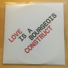 PET SHOP BOYS Love Is A Bourgeois Construct UK 4-trk promo test CD
