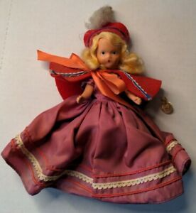 """Vintage Nancy Ann Storybook Doll 193 HP 6.5"""" A Very Independent Lady for July"""