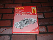 VOLVO 260 SERIES HAYNES WORKSHOP MANUAL. 1975 TO 1985.