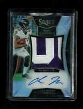 Chris Moore Select PRIME SELECTIONS NAMEPLATE Auto Rookie #10/20! 1/1? RAVENS SP
