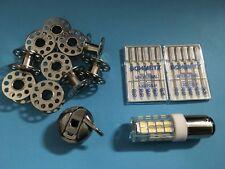 CB Spulenkapsel +10 Spule,LED Lampe + Nadel passend für fasst alle Nähmaschinen