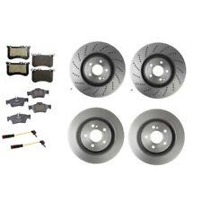 Mercedes Benz CLS550 Base 4.6L 2012 Brembo Rotors Textar Pads Pagid Sensors Kit