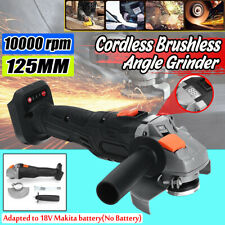 125mm Cordless Brushless Angle Grinder Cut Off Tool For Makita  Li-ion Battery