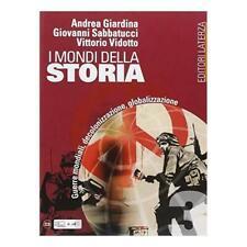 Mondi della Storia vol.3 Editore LaTerza scuola Giardina/Sabatucci 9788842112464