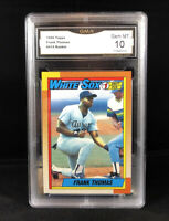 Frank Thomas 1990 Topps Name On Front Rookie Card RC #414 GMA 10 GEM - WHITE SOX