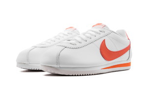 Nike WMNS Cortez Classic Leather 807471-115 White Magic Ember NEW Women's