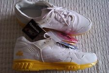 mens Reebok Alife ERS5000 trainers size 11 BNWTS white yellow air cushioned