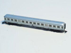 8716 Marklin Z DB Commuter car  2nd class Black/Silver liveries, In Box