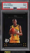 2007 Topps Basketball Kevin Durant ROOKIE RC #112 PSA 9 MINT