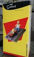 THE SIMPSONS - FOOTPRINTS FINE ART STATUE - SOAPBOX DERBY - BRAND NEW!