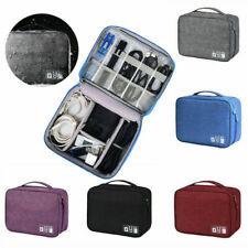 Elektronisches Zubehör Kabel Organizer Tasche Reise USB Aufbewahrungstasche NEU