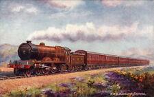 RAILWAY :  FAMOUS EXPRESSES IX- TUCK 'Oilette'9662 set of six cards