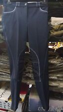 Pantaloni Equitazione Sarm Hippique mod Rebecca grip col. Ardesia tg 40 42 44