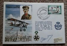 1979 2nd LT EDMOND THIEFFRY SIGNED RAF FLIGHT COVER
