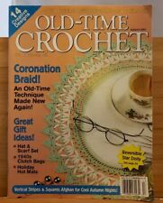 APR019 OLD TIME CROCHET MAGAZINE,  AUTUMN 2001