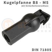 Kugelpfanne Kunststoff B8 M5 DIN 71805 Sicherheitsverschluss Kugel Pfanne Kopf