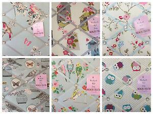 Birds Handmade Pin/memo/Notice/Photo board Gift bedroom choice fabrics Handmade