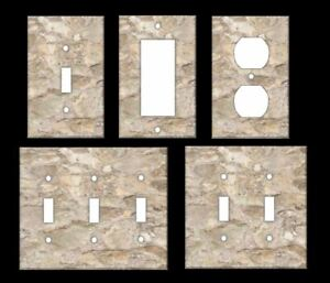 ITALIAN STONE IMAGE Light Switch Covers Home Decor Outlet MULTIPLE OPTIONS