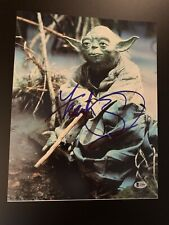 Frank Oz Signed 11x14 Star Wars Photo Yoda Beckett BAS Empire Strikes Back