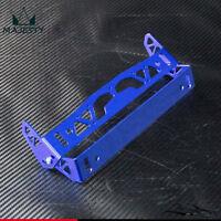 Adjustable Racing License Plate Frames Frame Tag Holder Aluminum Blue
