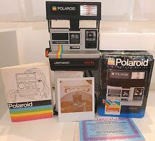 Polaroid 600 Instant Film Camera Lightmixer 630 SL +Box Manual HTF TESTED