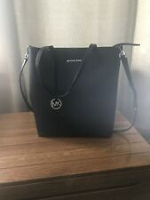 Michael Kors Hayley Large Tote Purse Black
